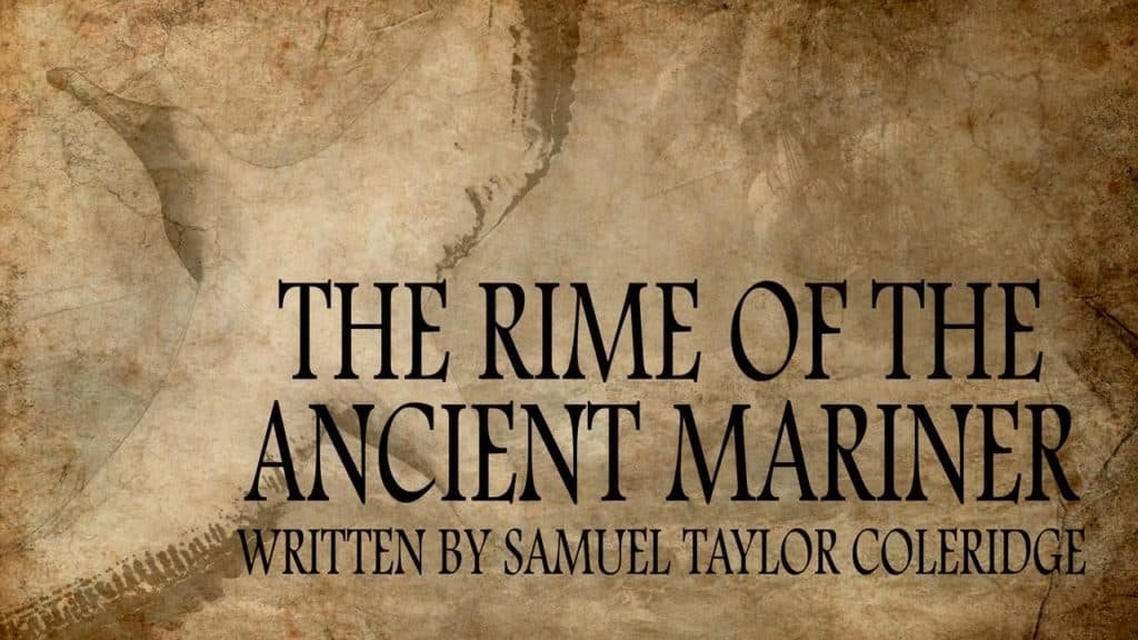 "<span class=""entry-title-primary"">The Rime of the Ancient Mariner</span> <span class=""entry-subtitle"">by Samuel Taylor Coleridge</span>"